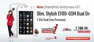 Smartfren Hadirkan Lini Produk Andromax dan USB Modem Terbaru
