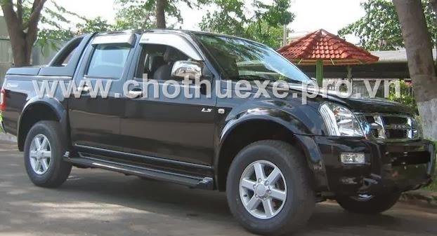 Cho thuê xe bán tải Isuzu-Dmax