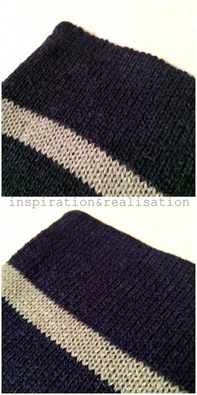 Knitting Machine Scarf Pattern : inspiration and realisation: DIY fashion blog: DIY machine knitting: striped ...