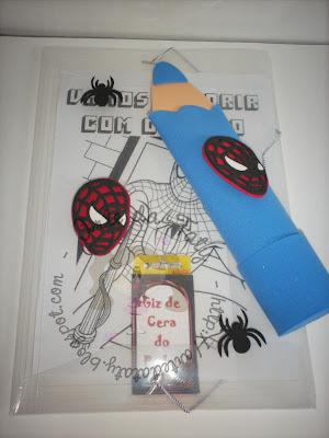 lembrancinha-homem-aranha