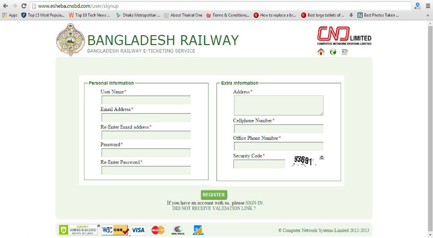 How To Buy/Purchase Train Tickets Online in Bangladesh (BD)