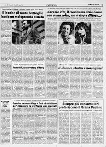 STAMPA SERA 23 MAGGIO 1988
