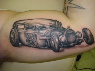 Car Tattoos - Car Tattoo Ideas