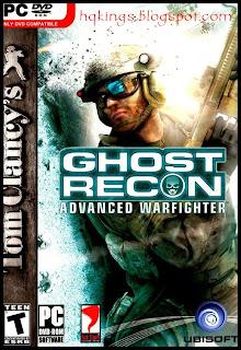 Ghost Recon Advanced Warfighter PC Cover