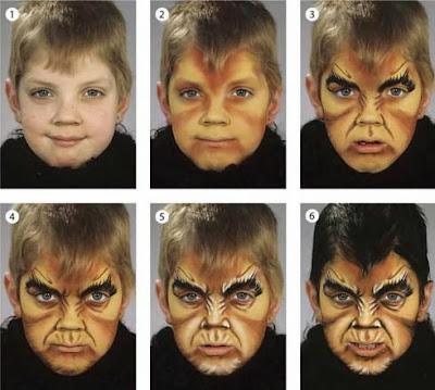 maquillaje de hombre lobo 2013