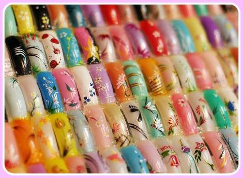 uñas pintadas,unas decoradas,uñas