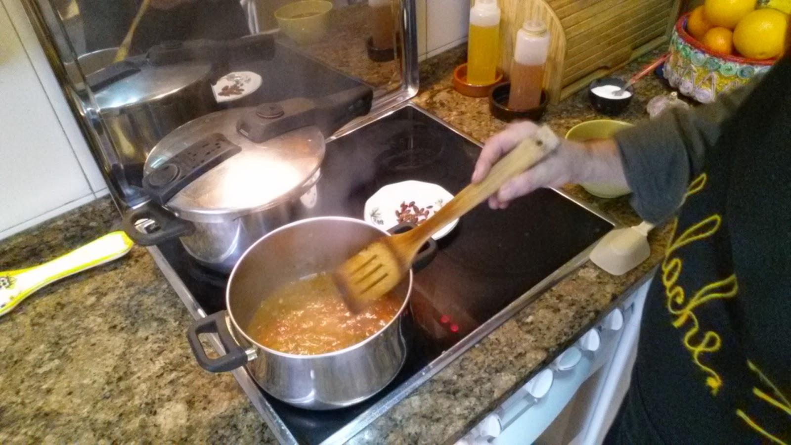 Oreja de cerdo en salsa la cocina tradicional de cambalache3 for Cocina tradicional