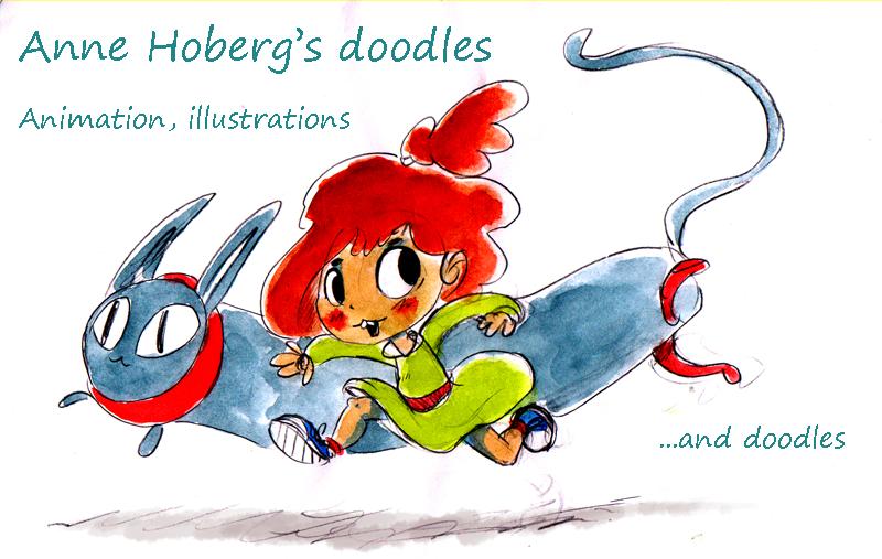 Anne Hoberg's doodles