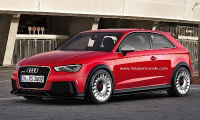 Future Audi RS3 2013 – Dossier