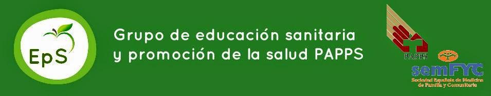 Grupo de educacion sanitaria y promoción de la salud del PAPPS de semFYC
