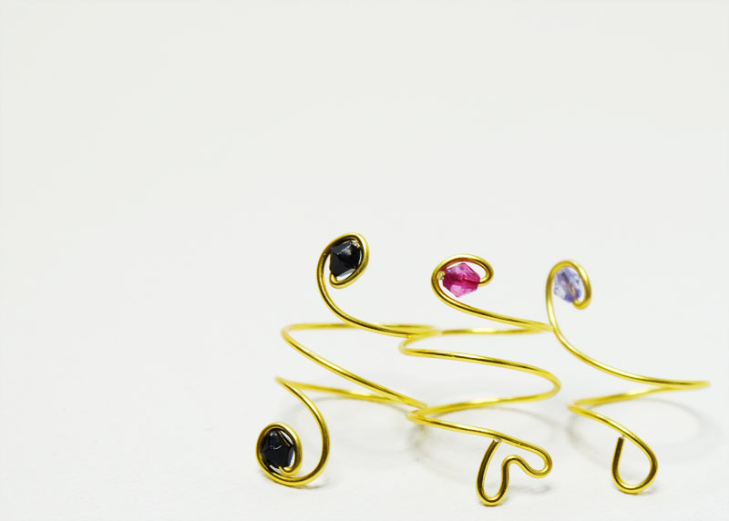 Eve and Rosie rings
