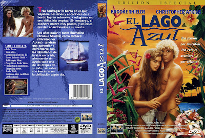 Carátula, cover, dvd: El lago azul | 1980 | The Blue Lagoon