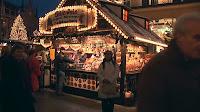 Hot wine punch at the Christmas Market Munich