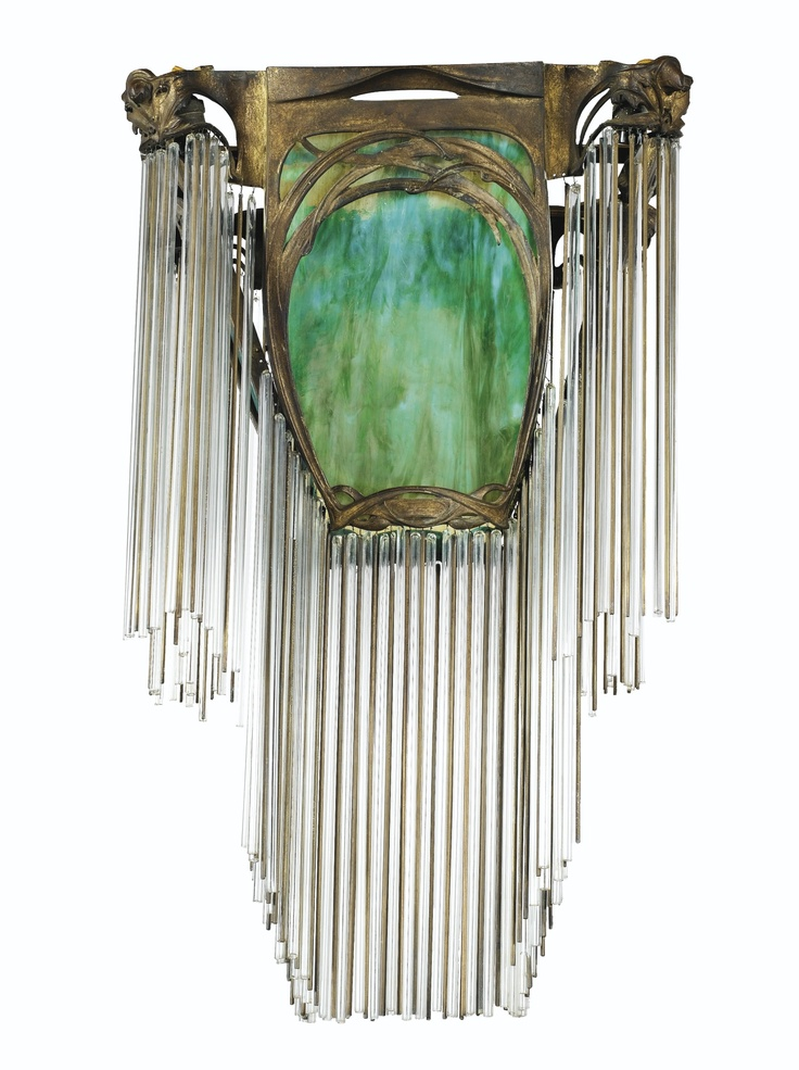 Eclectitude art nouveau lighting fixtures for Art nouveau lighting fixtures