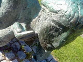Maria Pirwitz, Niendorf, Skulptur
