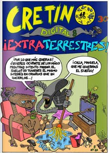Cretino 30 especial digital 8 Extra Terrestres