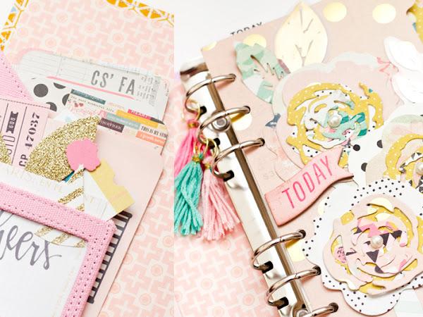 Maggie Holmes Design Team : Pink Planner