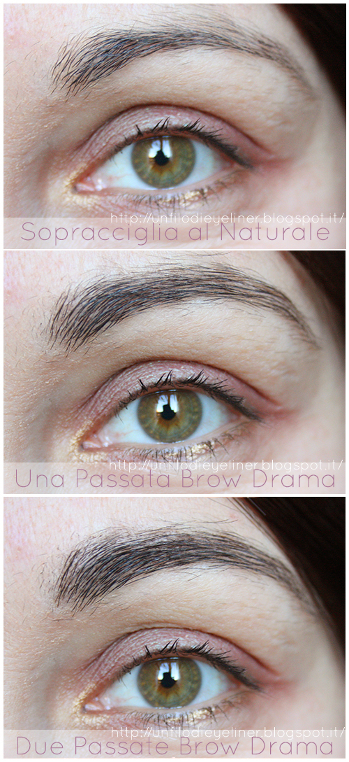 Brow Drama Maybelline Swatch