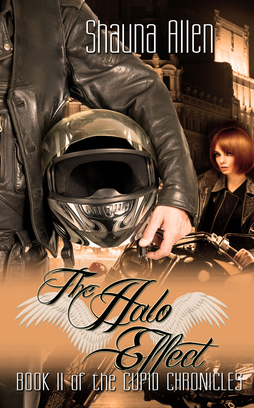 Now scheduling a two week tour the halo effect by shauna allen