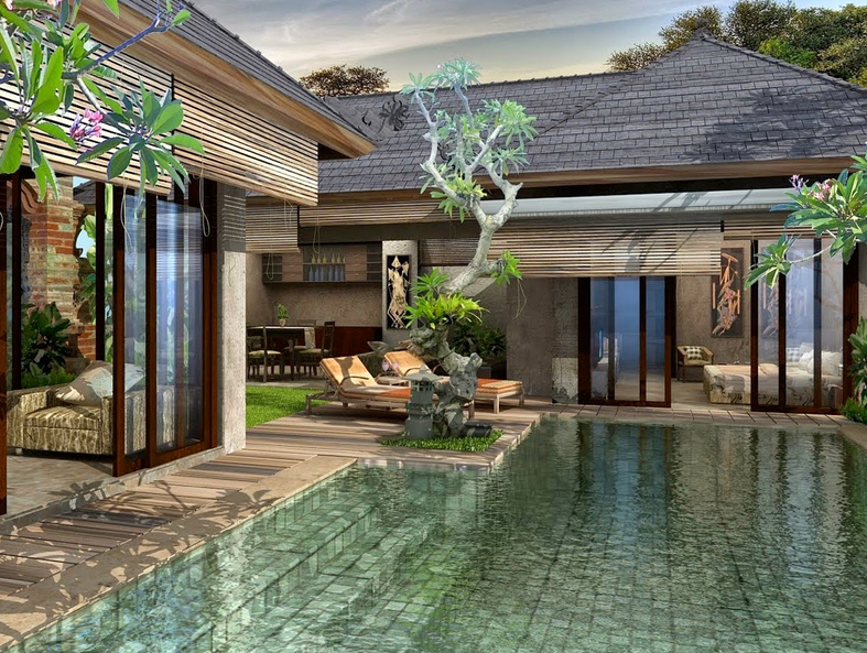 & Contoh Desain Rumah Villa Minimalis Modern Terbaru