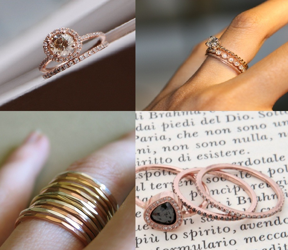 Villette Jewelry embracing rose gold