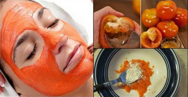 Tomato Mask To Remove Pimple And Black Marks