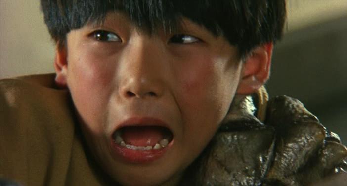 Hiroshi under attack