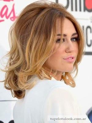 cortes de pelo 2014 medio Miley Cyrus