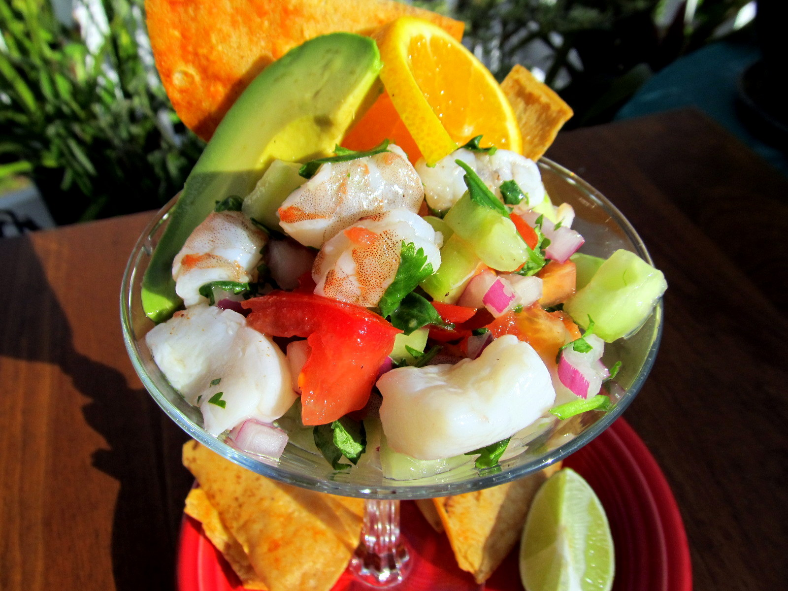 Don't Cook, But My Boyfriend Does!: Shrimp and Scallop Ceviche