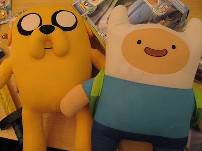 Adventure Time Plushes