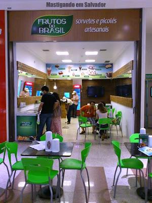 Sorveteria Frutos do Brasil: Fachada