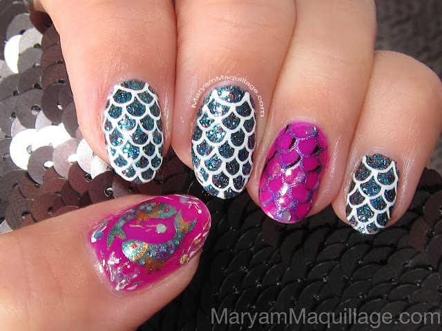 Maryam Maquillage Pisces Scales Nails