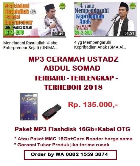 Ceramah Ustadz Abdul Somad Terbaru MP3 - Update 2018