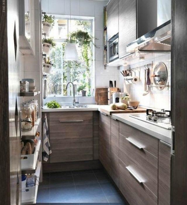 distribucion cocinas estrechas y largas hogar diez cmo decorar cocinas alargadas - Cocinas Alargadas Y Estrechas