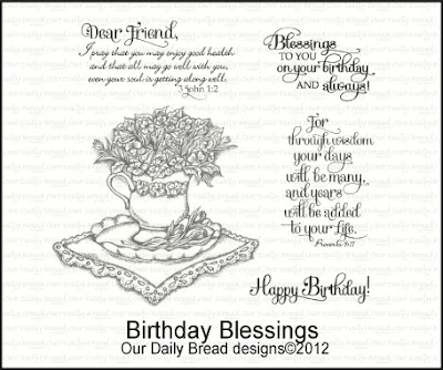 Our Daily Bread designs Birthday Blessings