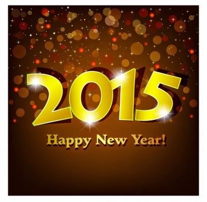 Gambar Ucapan Selamat Tahun Baru 2015 Kartu Indah Happy New Year