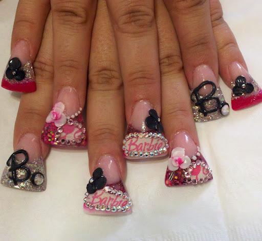 fashion duck feet nails cool