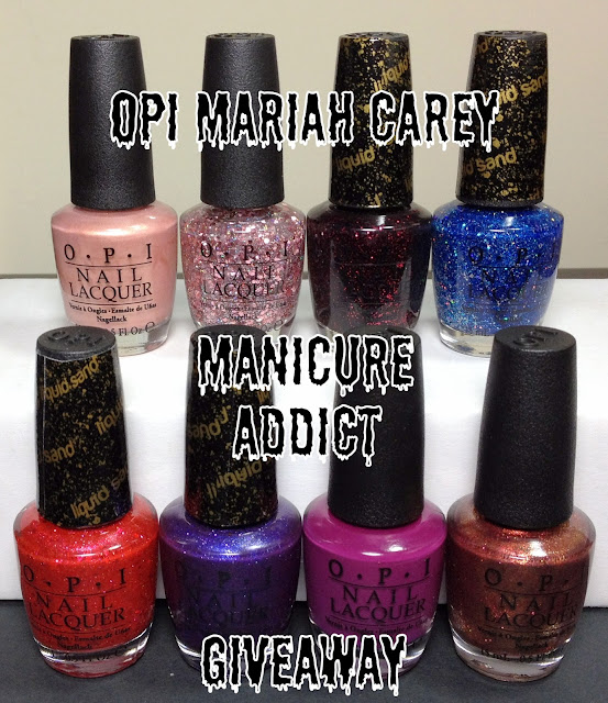 Manicure Addict&#39;s OPI Mariah Carey Collection Review &amp; Giveaway!