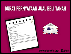 Gambar Contoh Surat Pernyataan Jual Beli Tanah