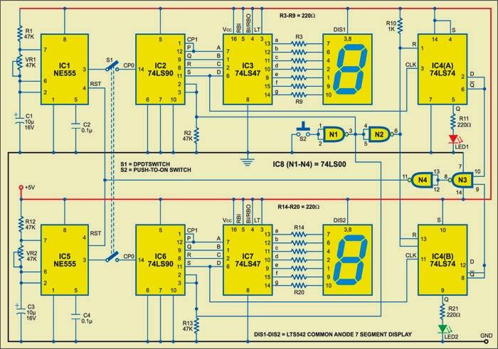 Super Circuit Diagram Digital Frequency Comparator Circuit Diagram