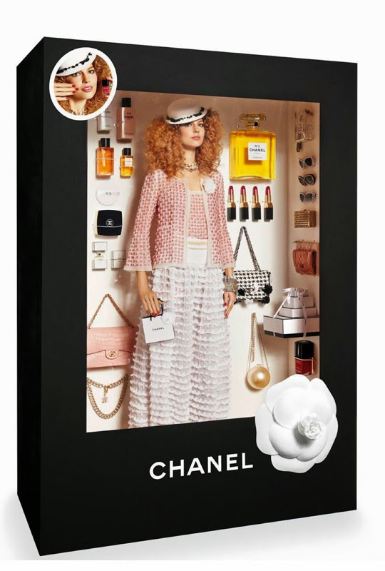 Doll fashion shoot by Vogue Paris - the Chanel doll