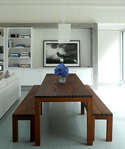 Interior style lake house in new york enter your blog for Design table new york