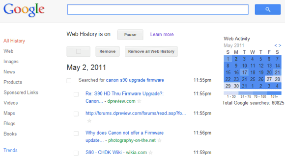 how to clear google search history across all devices