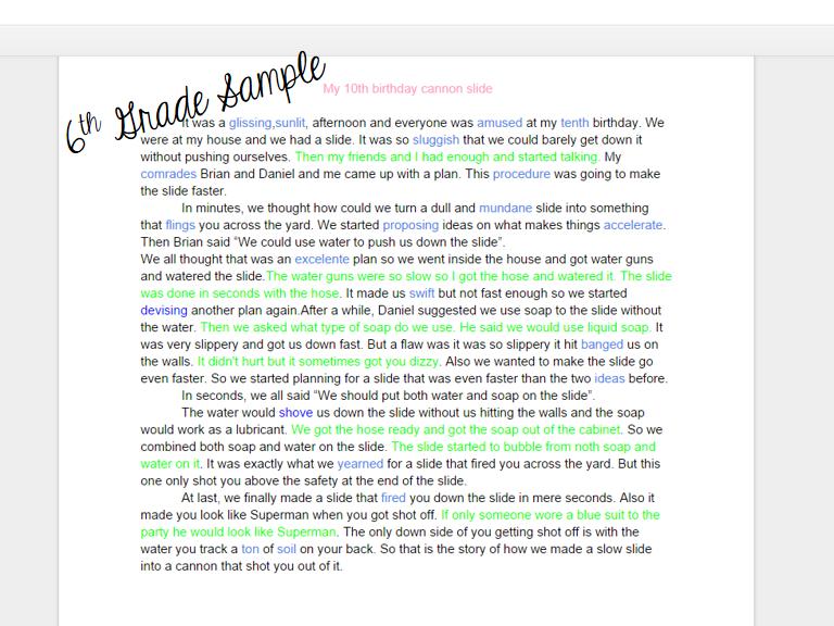Lesson plan on writing argumentative essay