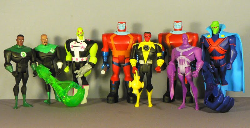 Best Justice League Toys And Action Figures For Kids : Super dupertoybox justice league unlimited figures