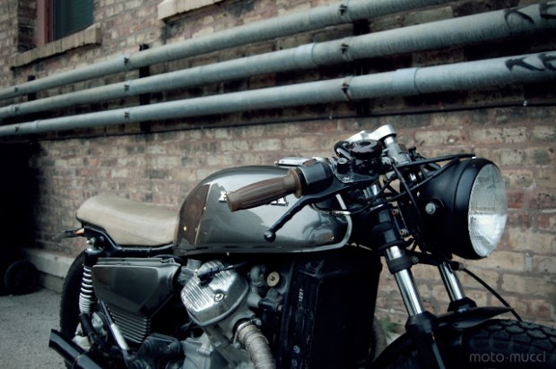 Honda Cafe Racer ( Honda CX500 Cafe Racer ) which is Based on a 1978 Honda CX500 Standard motorcycle, this Honda CX500 Cafe Racer has been completely restored and rebuilt with a new exhaust,