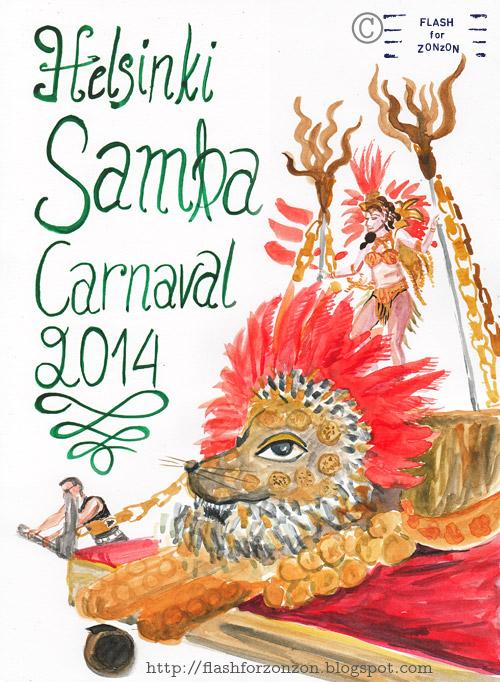 Helsinki Samba Carnaval 2014