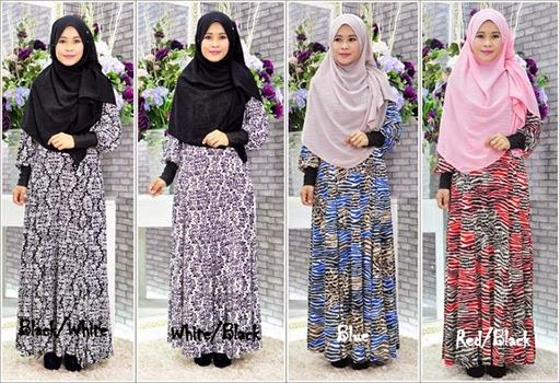 Maxi Long Dress Menawan Dengan Harga Promosi Hanya RM70 free Postage!!!