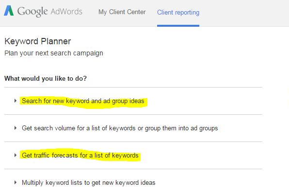 AdWords Keyword