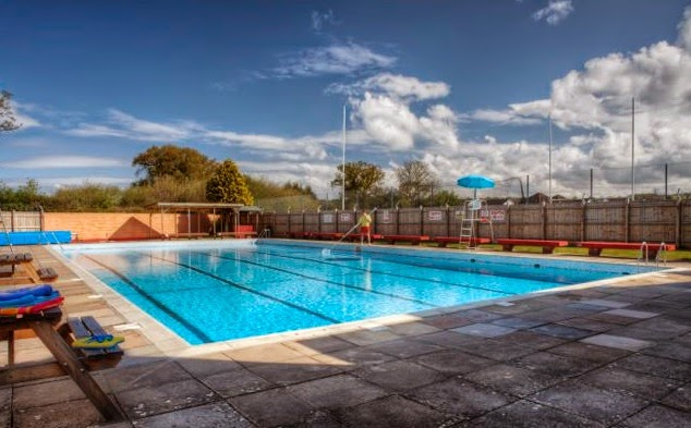 Local outdoor swimming pool